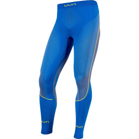 UYN Ambityon UW Lange Hose Herren fresh blue/orange shiny/yellow shiny